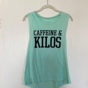 Mint Caffeine and Kilos Muscle Tank